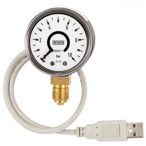 带电信号输出的波登管压力表